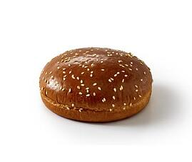 Brioche Style Burgerbolle m. Sesam